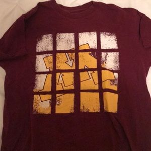 Maroon U of Minnesota T-Shirt size S
